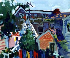 Charles Sovek, Artist and Author | Favorites - Gouache Paintings