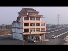 "Chinese ""nail houses"". Read this story and stick it to the man!"