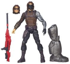 Marvel Captain America Marvel Legends Winter Soldier Figure  #toys #superheros #marvel #actionfigure #figure #affordable