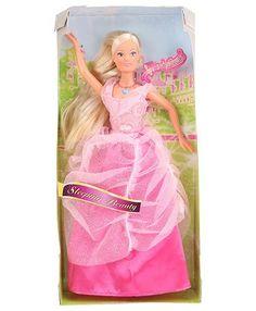 Steffi Love Fairy Tale Sleeping Beauty Singing Doll - Length 29 cm