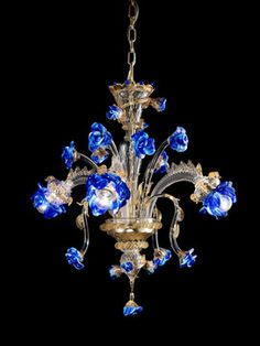 murano italy glass chandelier