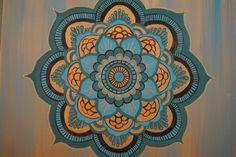mandala painting on canvas - Google Search