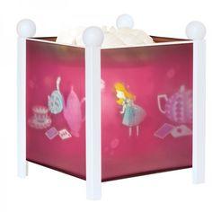 Trousselier Magische Laterne Nachtlicht Lampe Alice im Wunderland - Bonuspunkte sammeln, auf Rechnung bestellen, DHL Blitzlieferung!