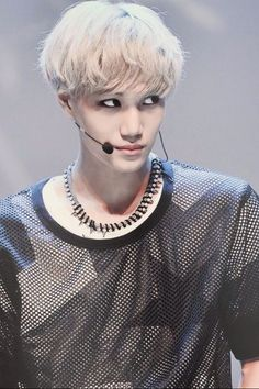 Kai ~EXO~~~~He's doing it again.