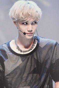 Kai ~EXO~~~~He's doing it again.
