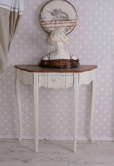 Wandtisch Cottage Konsolentisch Landhausstil Tischkonsole Antik Stil