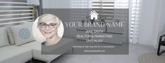 The perfect way to professionally brand and market your realtor business and showcase your products, services and offers. Facebook Cover Photo Template, Facebook Timeline Covers, Graphic Design Tools, Tool Design, Real Estate Banner, Branding Kit, Instagram Story Template, Social Media Template, Banner Template