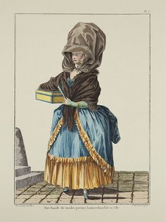 La Marchande de modes  1770s