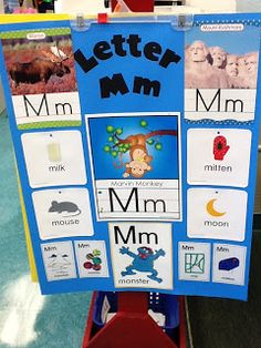Greene's Kindergarten Korner: November is a letter of the week focus board but the concept could be used when celebrating the first letter of our classmates names by making the center their letter link with their picture. Early Literacy, Preschool Kindergarten, Letters Kindergarten, Preschool Projects, Alphabet Activities, Classroom Activities, Preschool Alphabet, Classroom Ideas, Kindergarten Anchor Charts