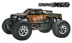 Will HPI's Savage XL Octane be the first gasoline-burning monster truck to land in stores?