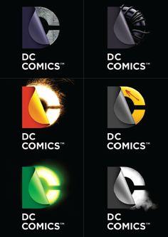 DC Comics logo / Landor Associates