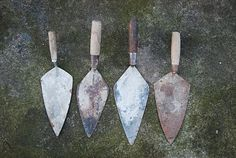...more great trowels i found today to make into wall hooks.