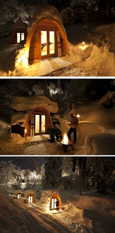 Switzerlan's PodHotel Flims - travel to a pod in the Alps