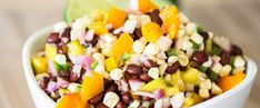 Raw Sweet Corn Salad | Fall In Love With Food Again