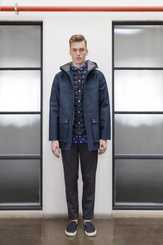 Storm Parka by Handsom Fall Winter, Autumn, Parka, Normcore, Denim, Collections, Jackets, Style, Fashion