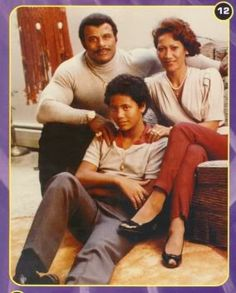 Rocky Johnson (Wade Bowles), with his former wife Ata Maivia Johnson, & their son Dwayne Johnson (The Rock)