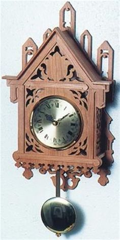 Scroll saw crosses and projects on pinterest - Cuckoo clock plans ...
