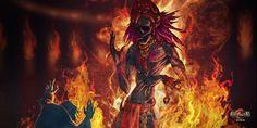 Agathyor a une revanche à prendre... et son sens de l'humour est assez limité  #heroicfantasy #epicfantasy