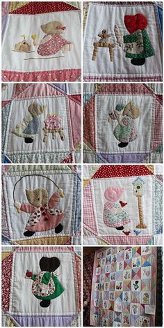 Adapted Sunbonnet Sue by The Sewbot, via Flickr