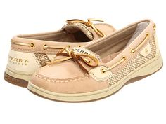 Sperry Top-Sider Angelfish Linen/Gold Glitter - Zappos.com Free Shipping BOTH Ways