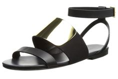 30 Sandals You Need This Summer #refinery29  http://www.refinery29.com/womens-sandals#slide2  Gold, Metal Band