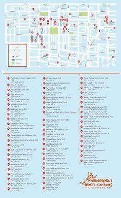 Self Guided Tours The Constitutional Walking Tour Of Philadelphia - Historic philadelphia map