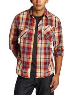 Levi`s Men`s Steele Long Sleeve Flannel Shirt $25.31 - $25.63