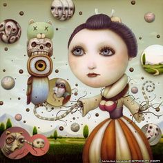 Surrealismo japonés de la mano de Naoto Hattori