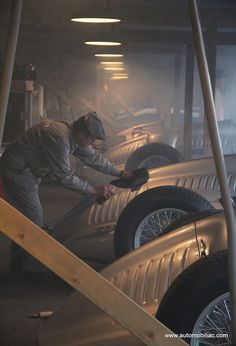 Silver Arrows at Goodwood on October 18, 2012 at 11:00pm