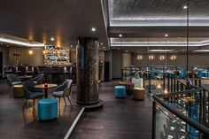 Sumptuous, However Intimate Style Scheme Exhibited by M Restaurant in London