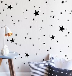 Scattered Stars WALL DECAL by TheLovelyWall on Etsy