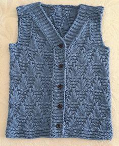Beanie Knitting Patterns Free, Baby Sweater Patterns, Knit Baby Sweaters, Knitting Designs, Crochet Mandala Pattern, Crochet Cardigan Pattern, Gents Sweater, Baby Boy Vest, Kurti Embroidery Design