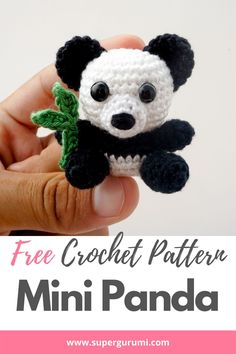 Crochet Amigurumi Free Patterns, Christmas Crochet Patterns, Crochet Animal Patterns, Crochet Dolls, Crochet Animals, Quick Crochet, Cute Crochet, Crochet For Kids, Crotchet