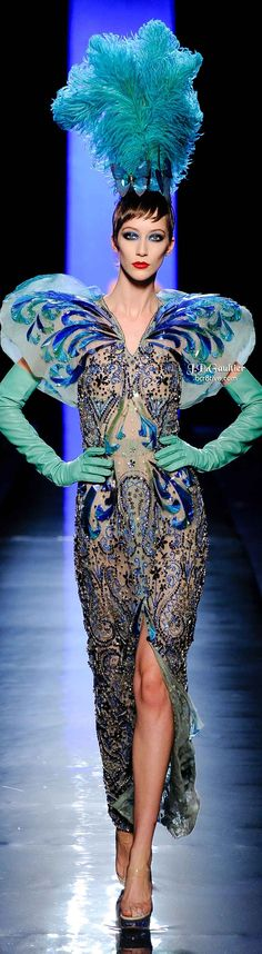 Jean Paul Gaultier Spring 2014 Couture | cynthia reccord