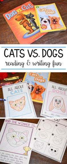 Reading and Writing Unit Cats vs. Reading and Writing Unit Taylor Moore writing Cats vs. The ultimate reading and writing […] vs grade Second Grade Writing, First Grade Reading, Informational Writing, Persuasive Writing, Paragraph Writing, Kindergarten Writing, Teaching Writing, Kindergarten Pictures, Teaching Ideas