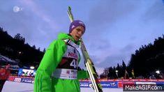 Andreas Wellinger Willingen on Make a GIF Ski Jumping, Jumpers, Skiing, Germany, Ski, Jumper, Deutsch