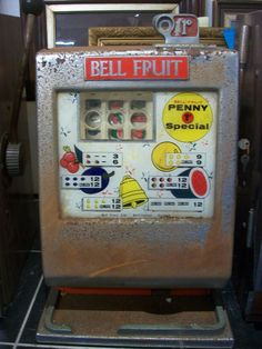 Vintage Fruit & Arcade Machines