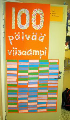 100 Days Of School, 100th Day, The 100, Classroom, Neon Signs, Teaching, Math, Kids, Class Room