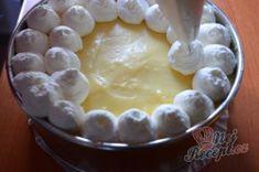 Famózní banánový nepečený dort | NejRecept.cz Naan, Pie, Cheese, Food, Vanilla Cream, Top Recipes, Food Portions, Dessert Ideas, Torte