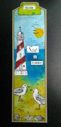 Art Journey Design-team: Art Journey Challenge #61: boekenlegger / bookmark