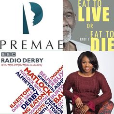 LIVE on @bbcDerby 8.15pm out Co-Founder @drclareao talks @Premaeskincare @drsebiscellfood and why #vegan #alkaline #diet #skincare will save #humanity from #disease! Don't miss it!!! #expert #dr #skincare #beauty #health #wealth #masters #african #wellness #genetics #healing