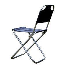 (29.99$)  Watch now  - Beach chairs Portable Folding Camping Stool Chair Max load bearing 145 kg Silla Plegable Fold  Beach Fish Chair Free Shipping