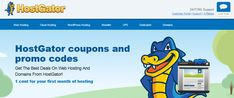 Would you want to get the promo code and coupon (February 2018) of the Hostgator.com hosting to save your funds !? Starting with 1 cent for your first month of hosting. Host Gator is your choice with cheap price, great uptime, reliability, support and user experience.