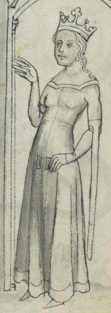 Vaticinia de pontificibus (Papstvatizinien) Im deutschen Sprachraum entstanden, wahrscheinlich in Böhmen · um 1360/1370 VadSlg Ms. 342  Folio 8