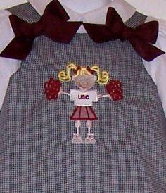 Gamecock dress.