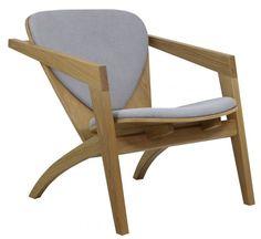 Replica Hans Wegner Butterfly Chair - Fabric