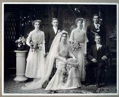 Wedding portrait. USA  c. 1911-12.