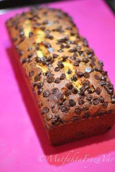 Damla Çikolatalı Portakallı Pratik Kek Banana Bread, Baking, Desserts, Bakeries, Food, Eat, Tailgate Desserts, Bakery Shops, Deserts