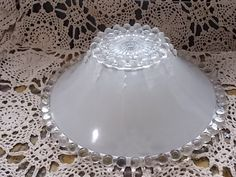 Vintage Gl Beaded Light Shade Ceiling Lamp