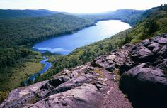 Lake of the Clouds, Porcupine Mountains, MI